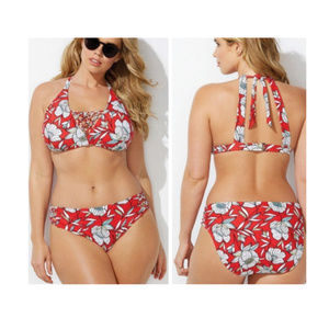 2pc macrame CURATOR sunlight BIKINI swimsuit 51k3*